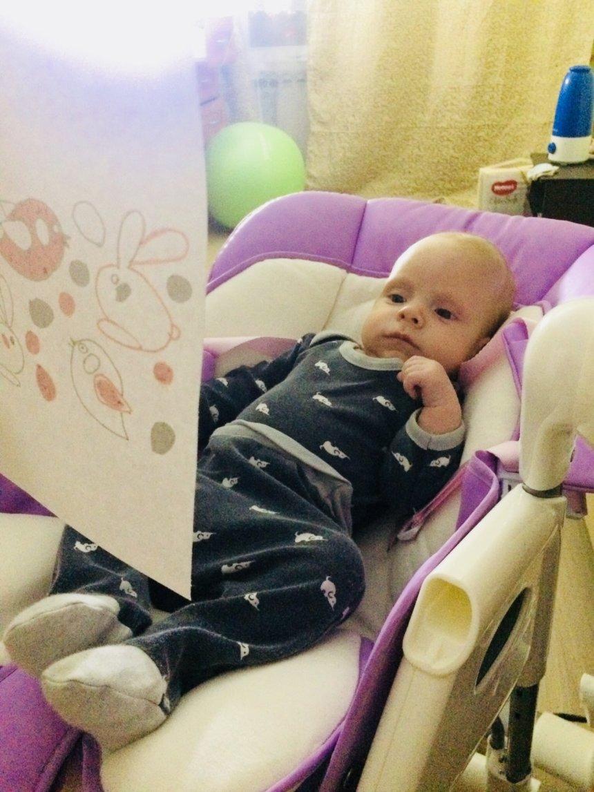 Отчёт по занятию Развиваем зрение малыша в Wachanga!