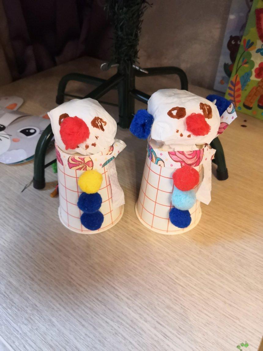 Отчёт по занятию Снеговики из стаканчиков в Wachanga!