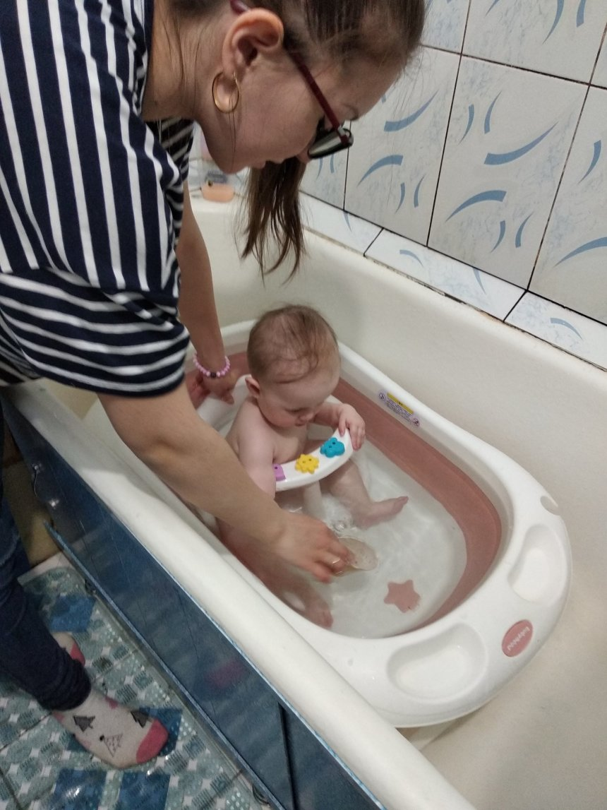 Отчёт по занятию Поиграйте с чашкой в ванне в Wachanga!