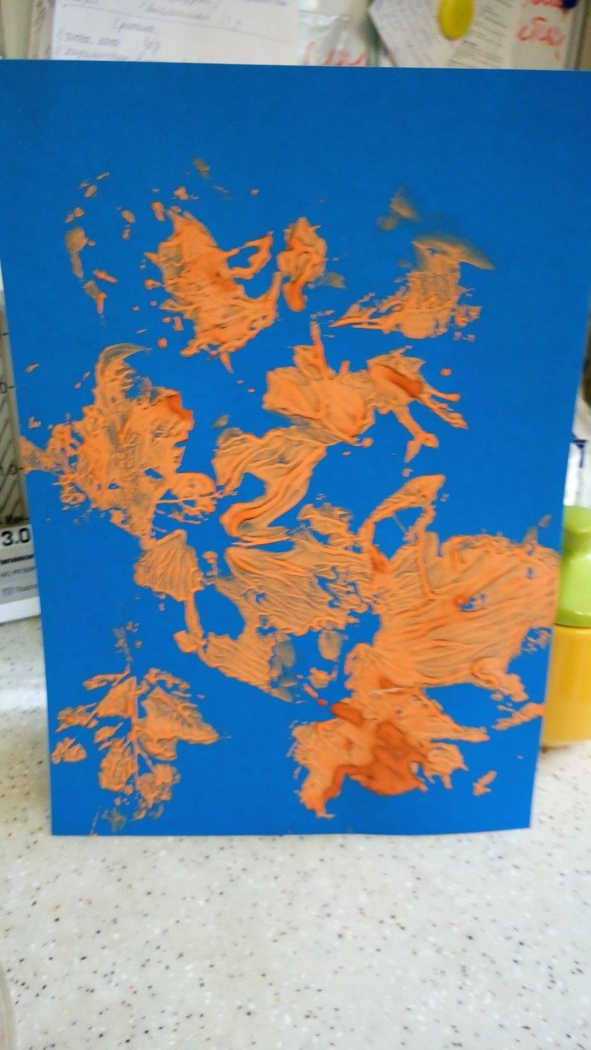 Отчёт по занятию Сделайте вместе с ребенком отпечатки листьев в Wachanga!