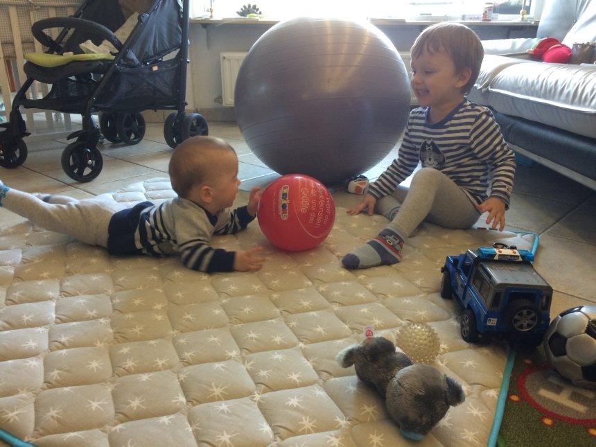 Отчёт по занятию Первые игры с мячом в Wachanga!