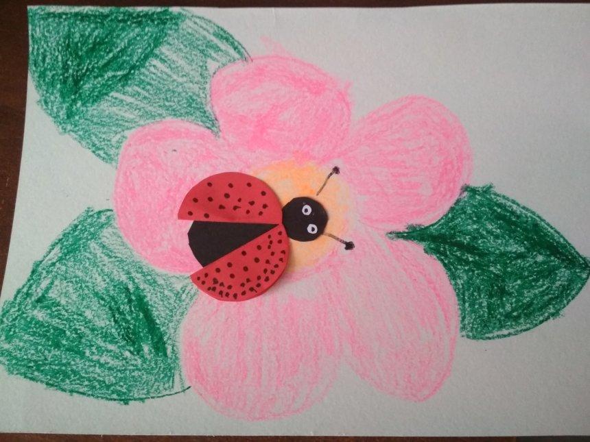 Отчёт по занятию Цветы для мамы в Wachanga!