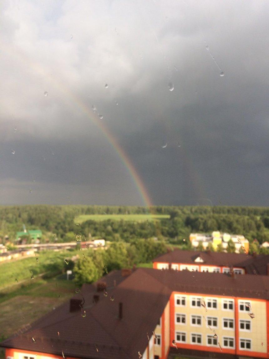 Отчёт по занятию Сфотографируйте радугу в Wachanga!