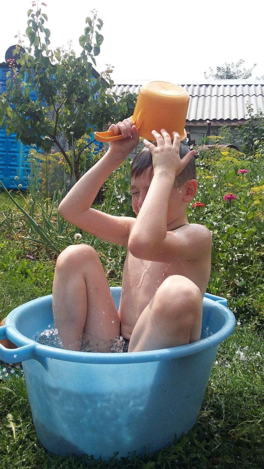Отчёт по занятию Сфотографируйте малыша во время купания в Wachanga!