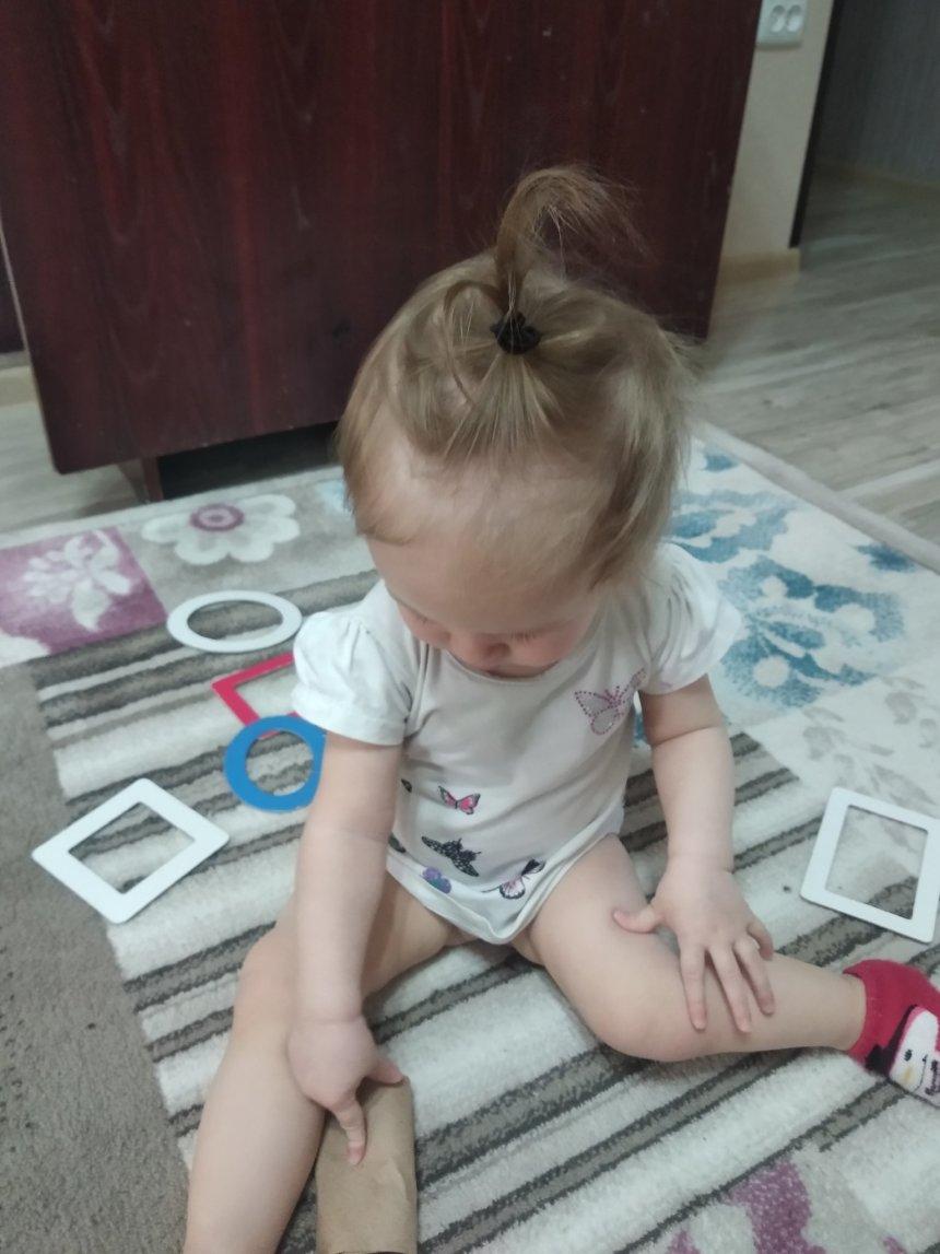 Отчёт по занятию Сделайте для малыша игрушку со стержнем в Wachanga!