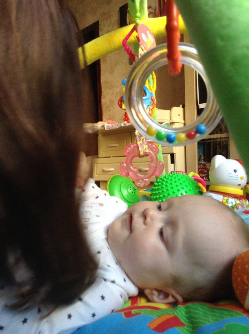 Отчёт по занятию Поиграйте с малышом в игру «Где твой носик?» в Wachanga!