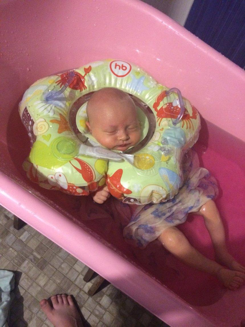 Отчёт по занятию Устройте для малыша ванну с отваром целебных трав в Wachanga!