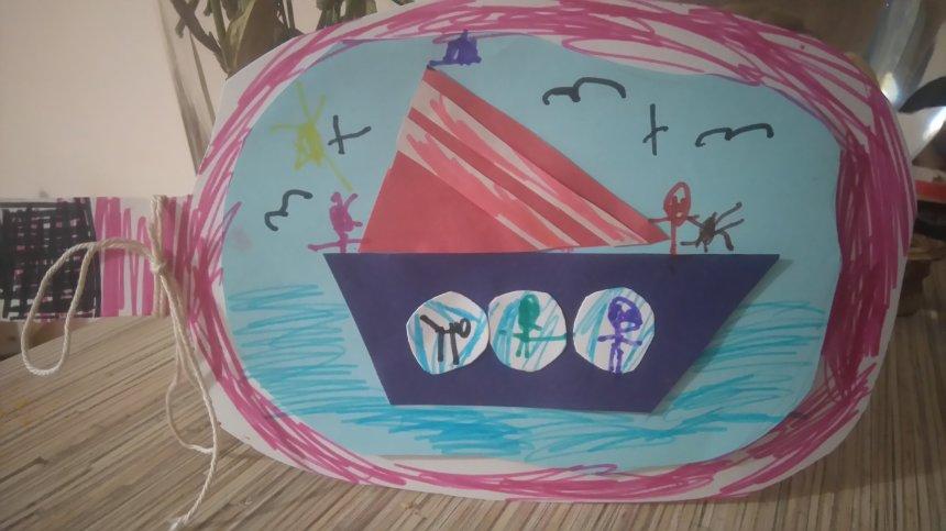 Отчёт по занятию Кораблик в бутылке в Wachanga!