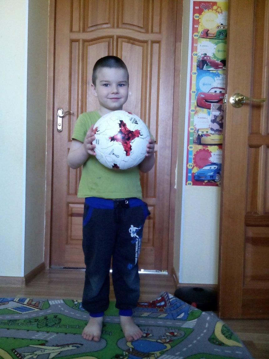 Отчёт по занятию Поиграйте с мячом в Wachanga!