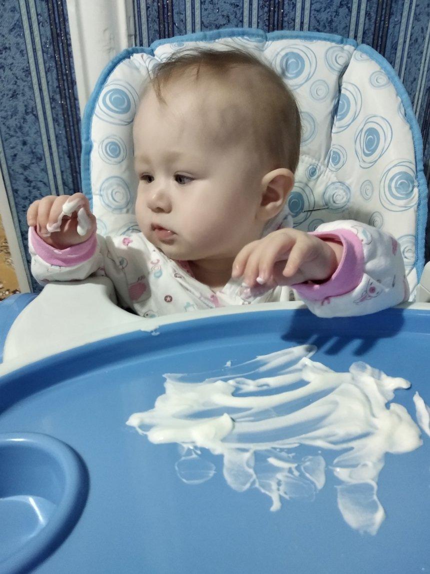 Отчёт по занятию Рисунки йогуртом в Wachanga!