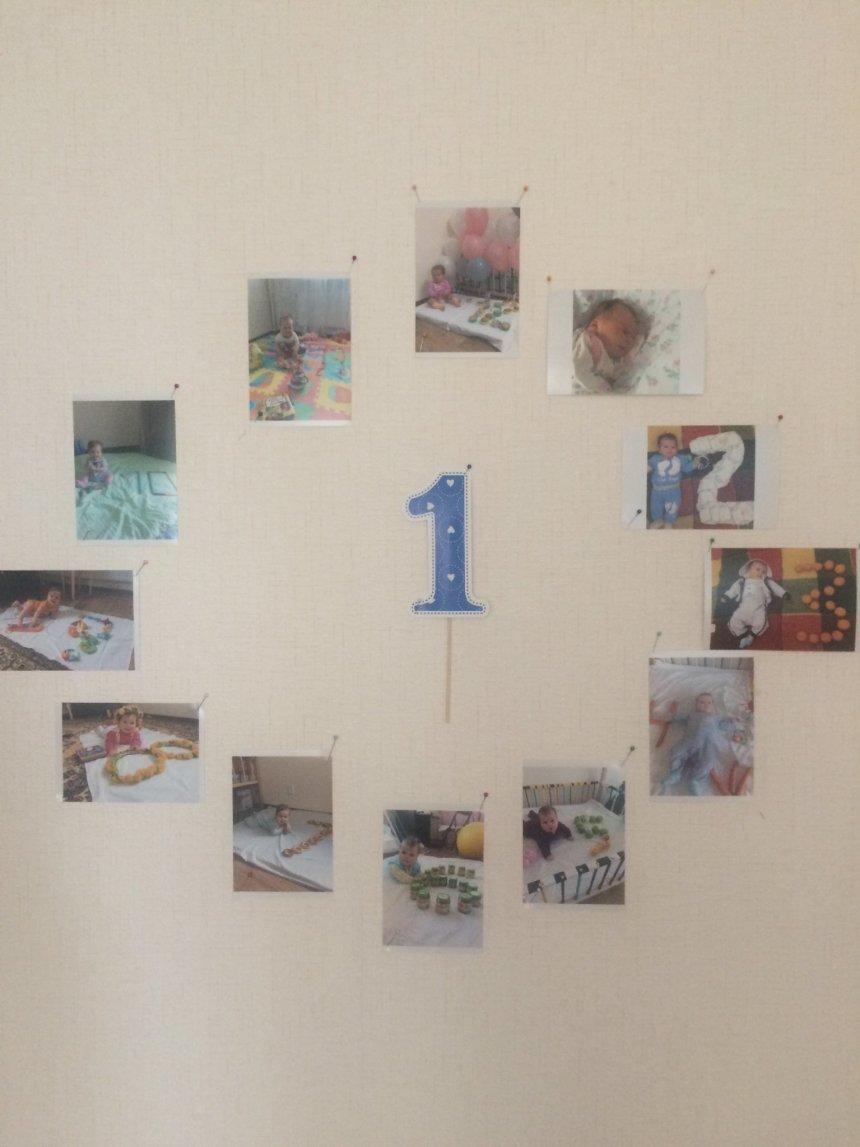 Отчёт по занятию Сделайте стенгазету к первому дню рождения малыша  в Wachanga!