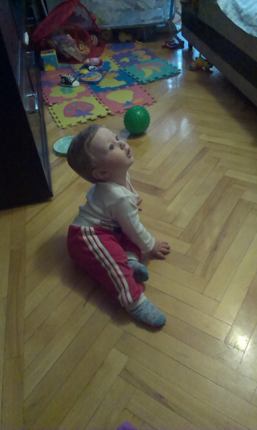 Отчёт по занятию Поиграйте с малышом в игру «Догони мяч!» в Wachanga!