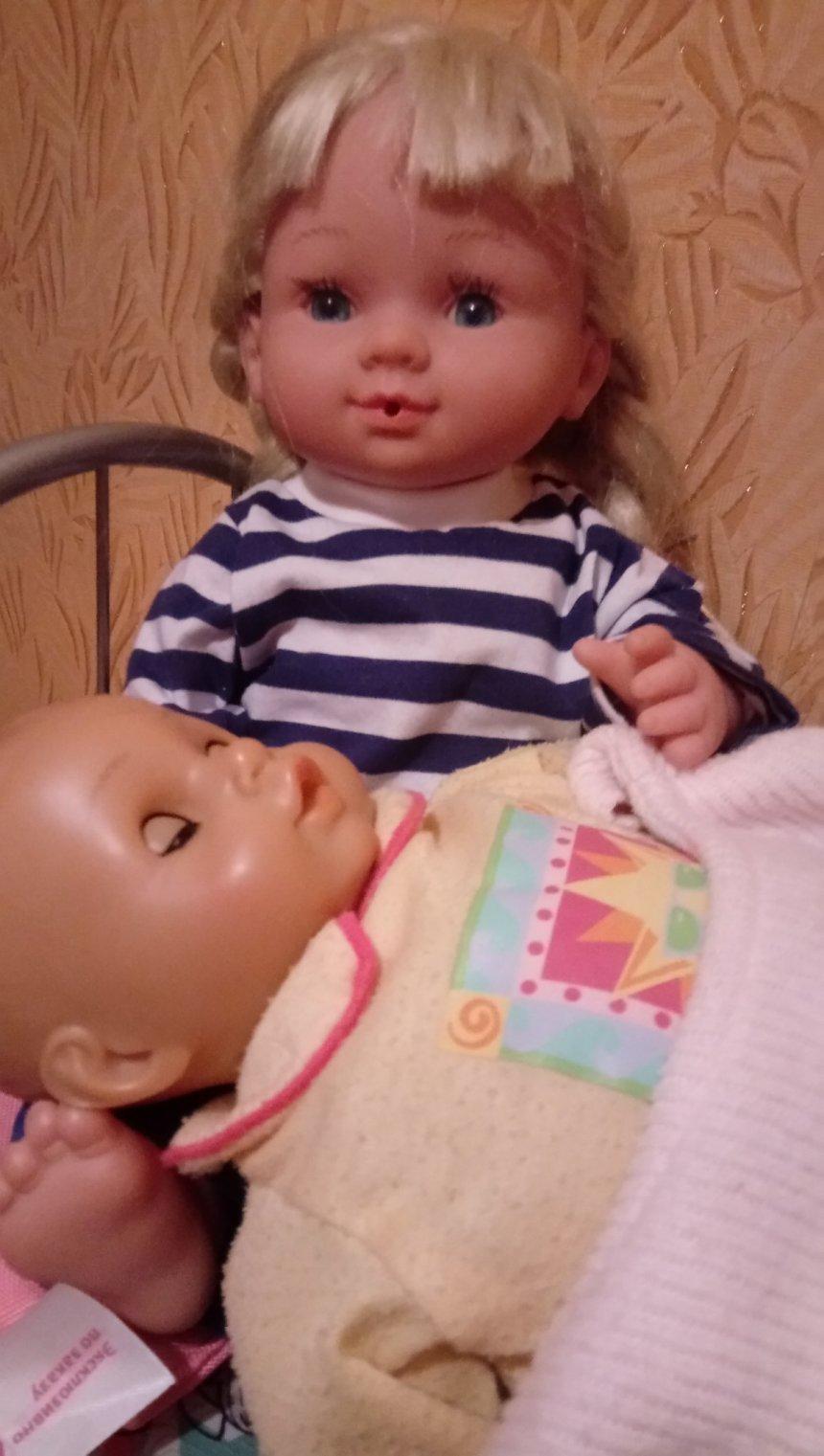 Отчёт по занятию Постельное белье для кукол в Wachanga!