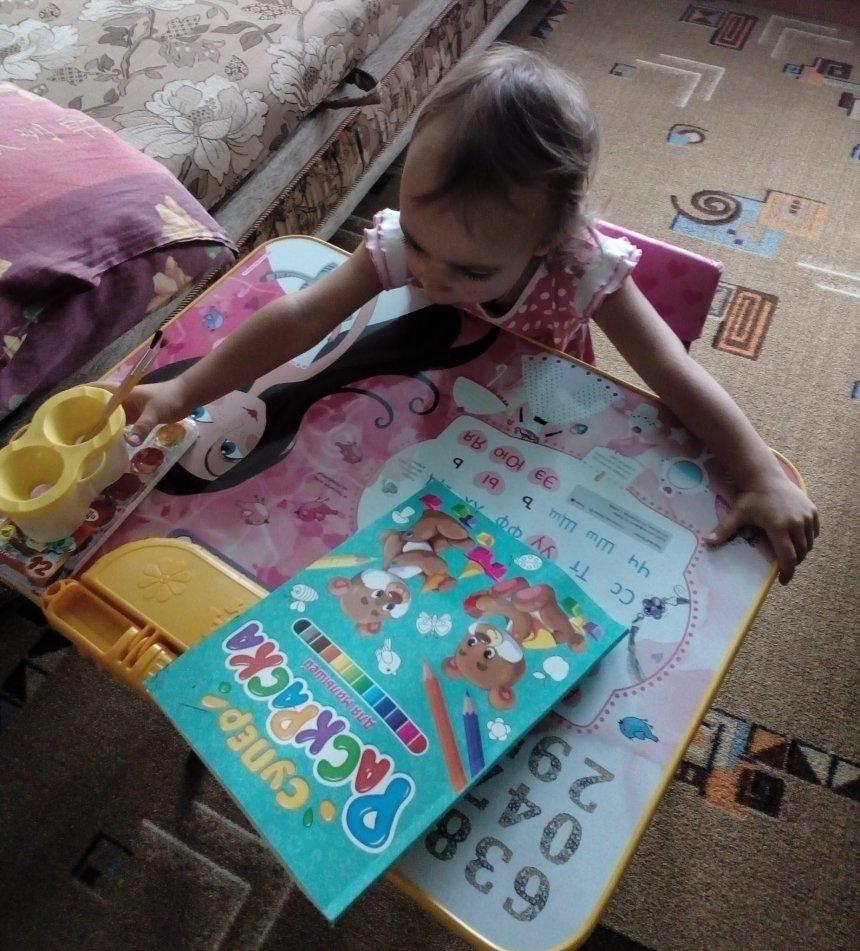 Отчёт по занятию Жидкие краски в Wachanga!