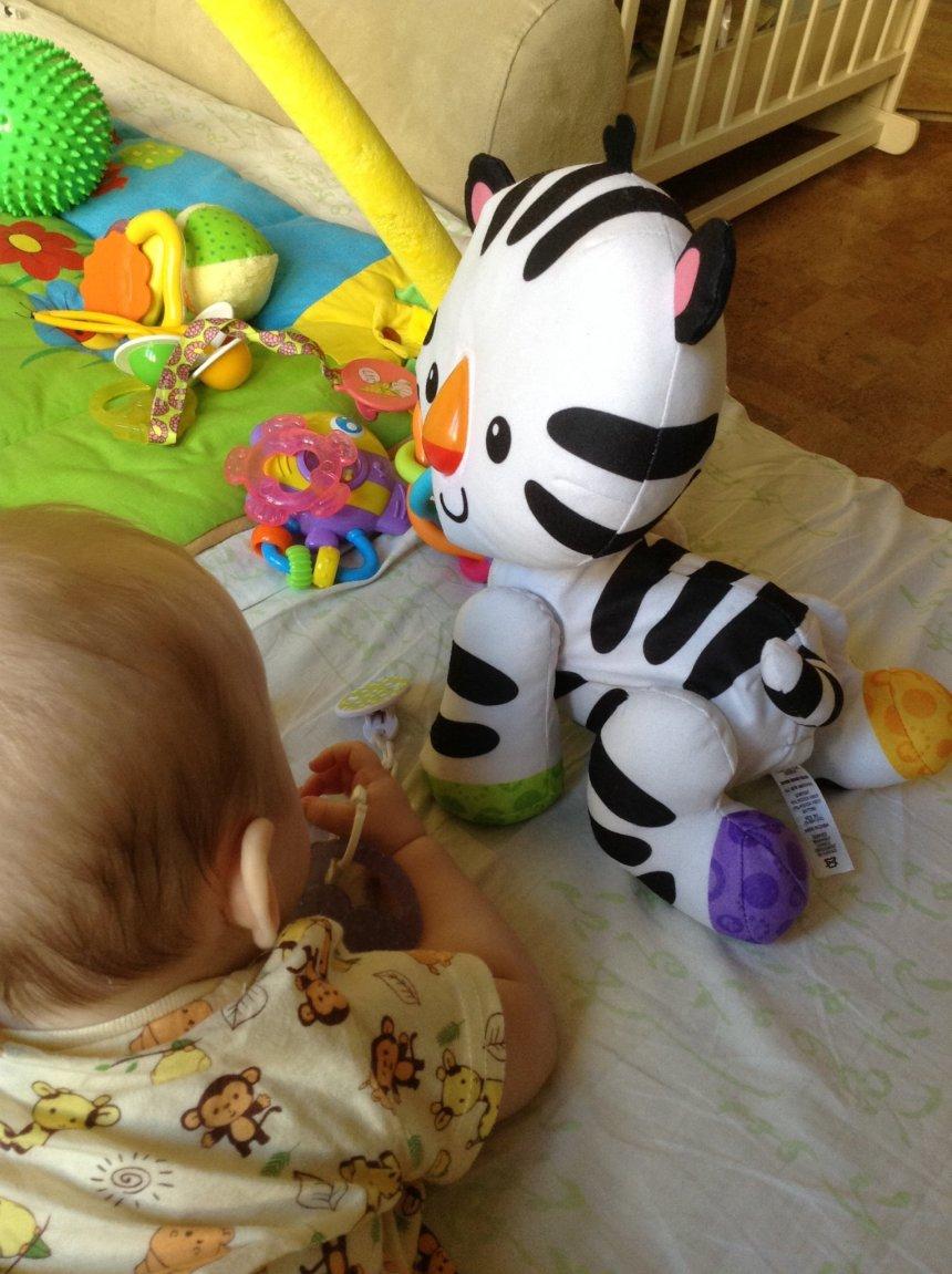 Отчёт по занятию Новые игрушки для малыша в Wachanga!