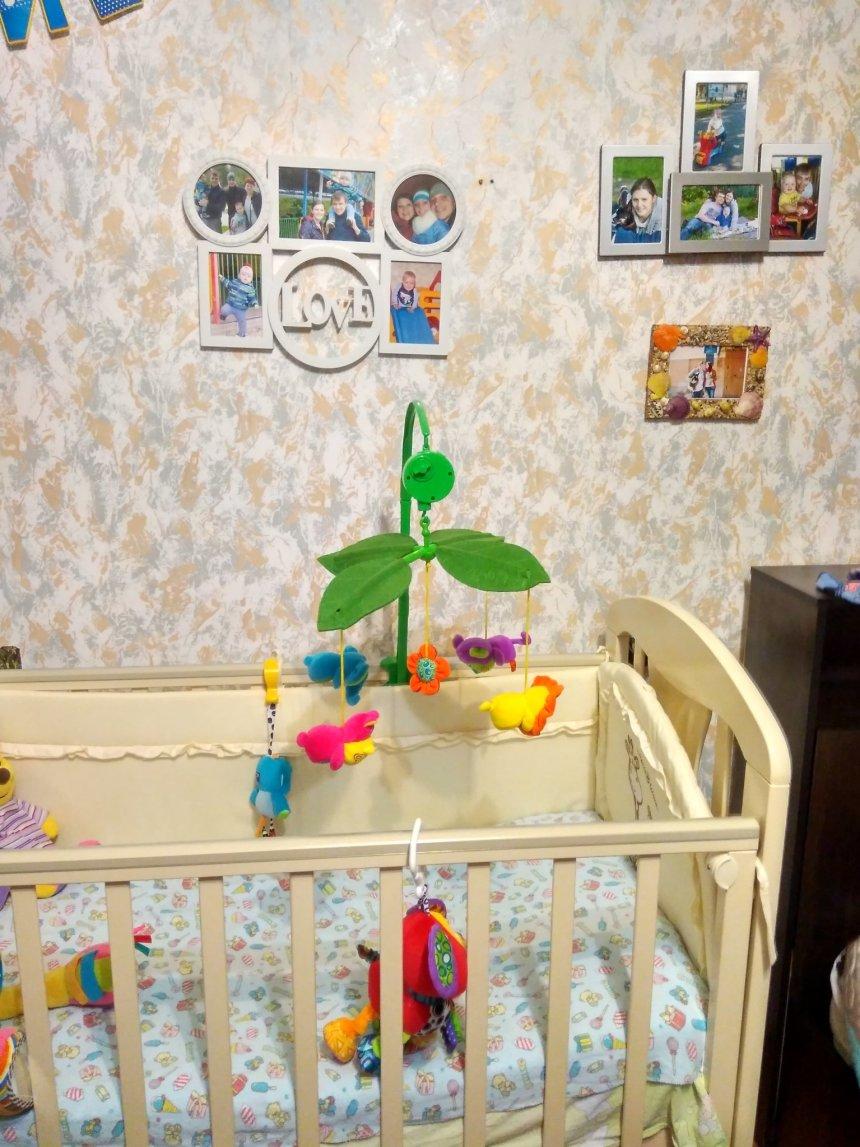 Отчёт по занятию Повесьте над кроваткой малыша фотографии мамы и папы в Wachanga!