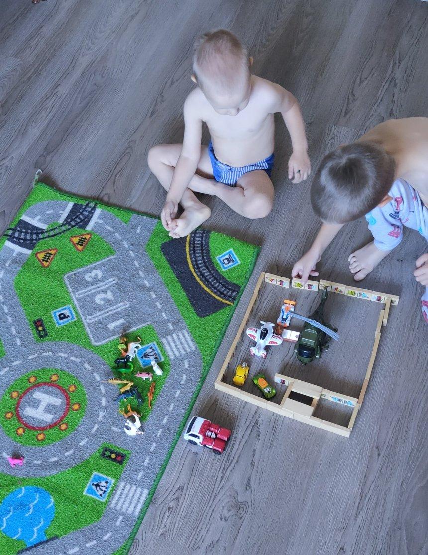 Отчёт по занятию Поиграйте вместе с ребёнком в аэропорт  в Wachanga!