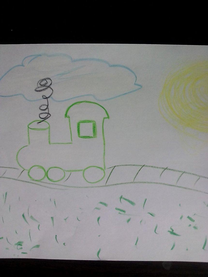 Отчёт по занятию Рисуем восковыми мелками в Wachanga!