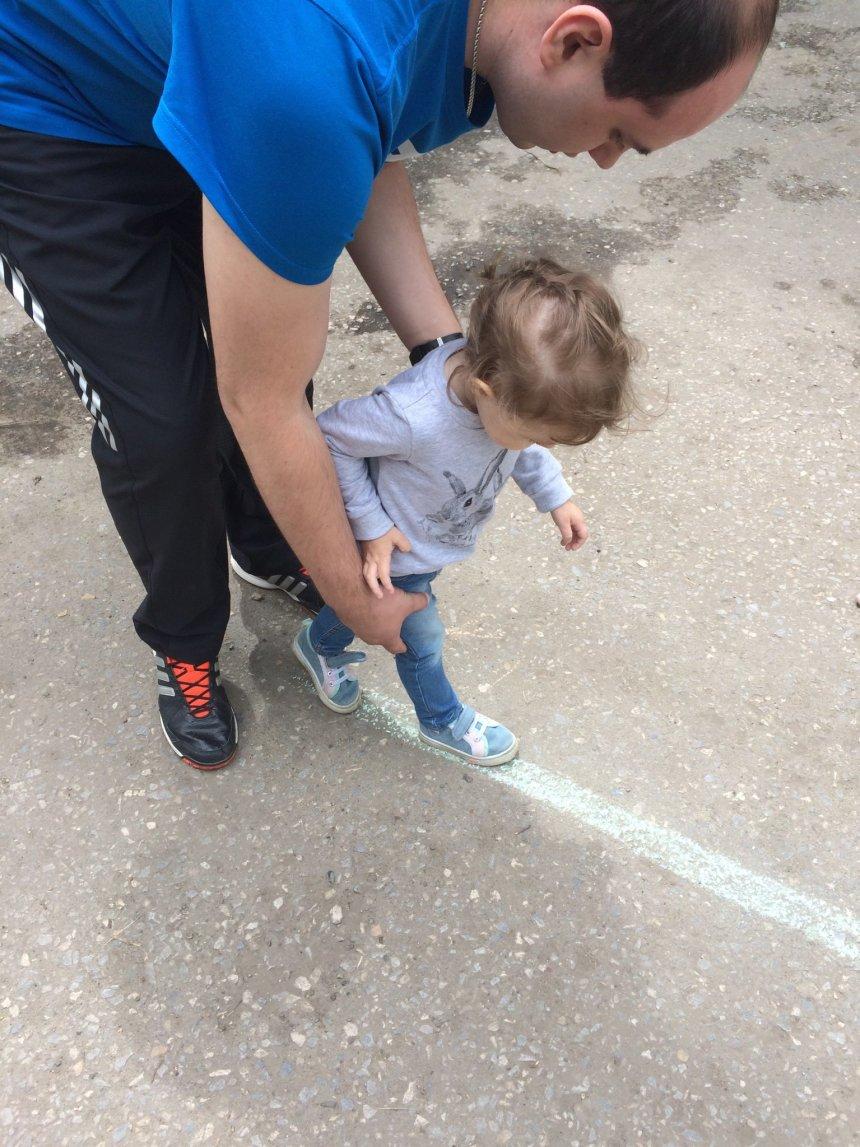 Отчёт по занятию Научите ребёнка ходить по верёвочке  в Wachanga!