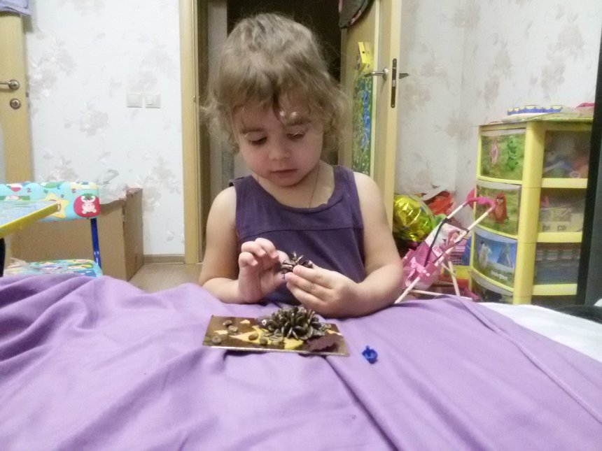 Отчёт по занятию Маленькие ёжики в Wachanga!