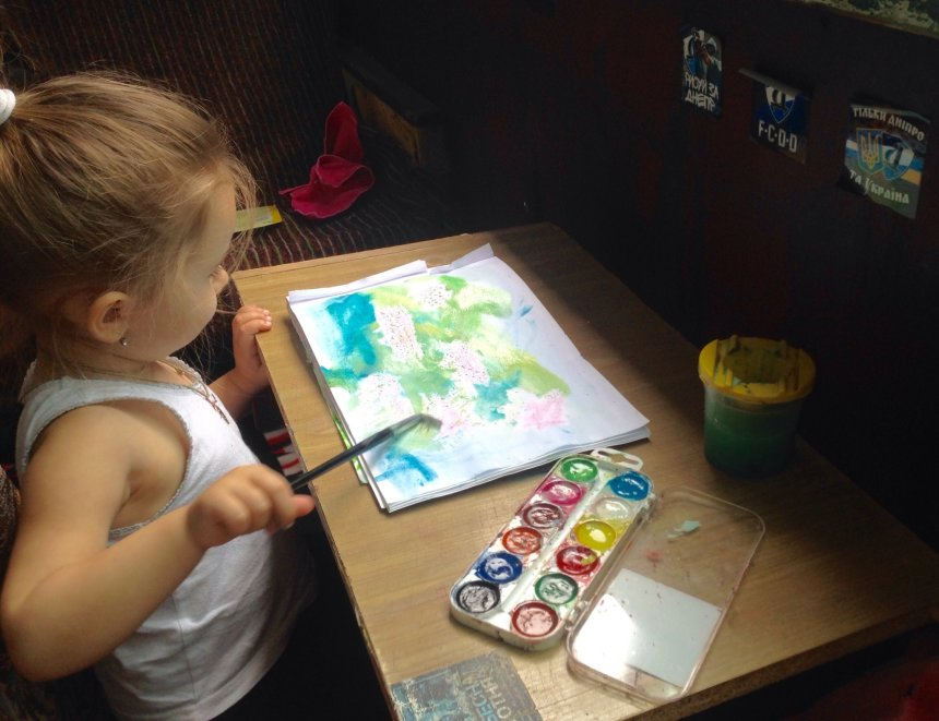Отчёт по занятию Нарисуйте вместе с ребенком ледоход на реке в Wachanga!