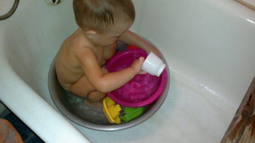 Отчёт по занятию Игры в ванне в Wachanga!