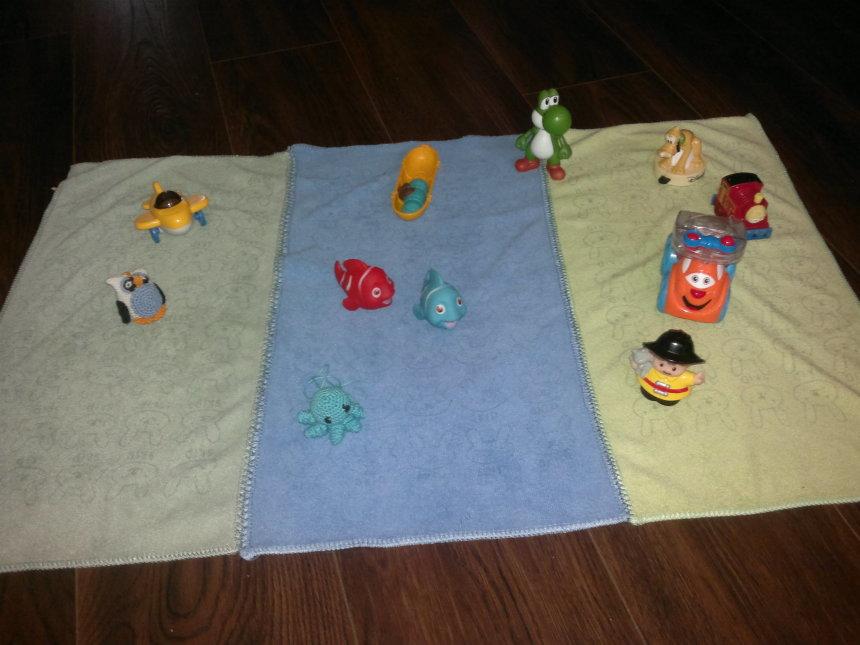 Отчёт по занятию Сшейте для ребенка коврик для игр в Wachanga!