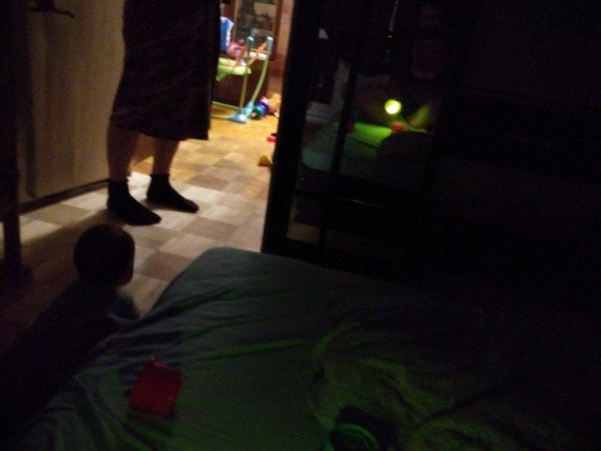 Отчёт по занятию Игры с фонариком в Wachanga!