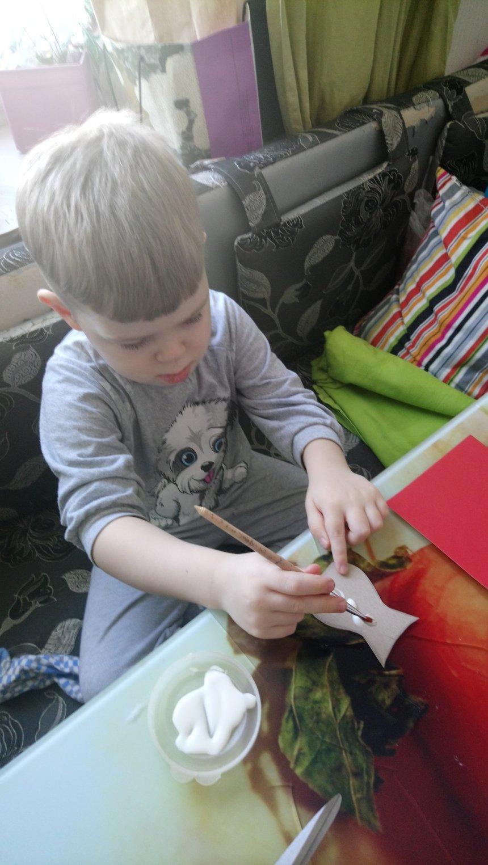Отчёт по занятию Открытка с мимозой своими руками в Wachanga!