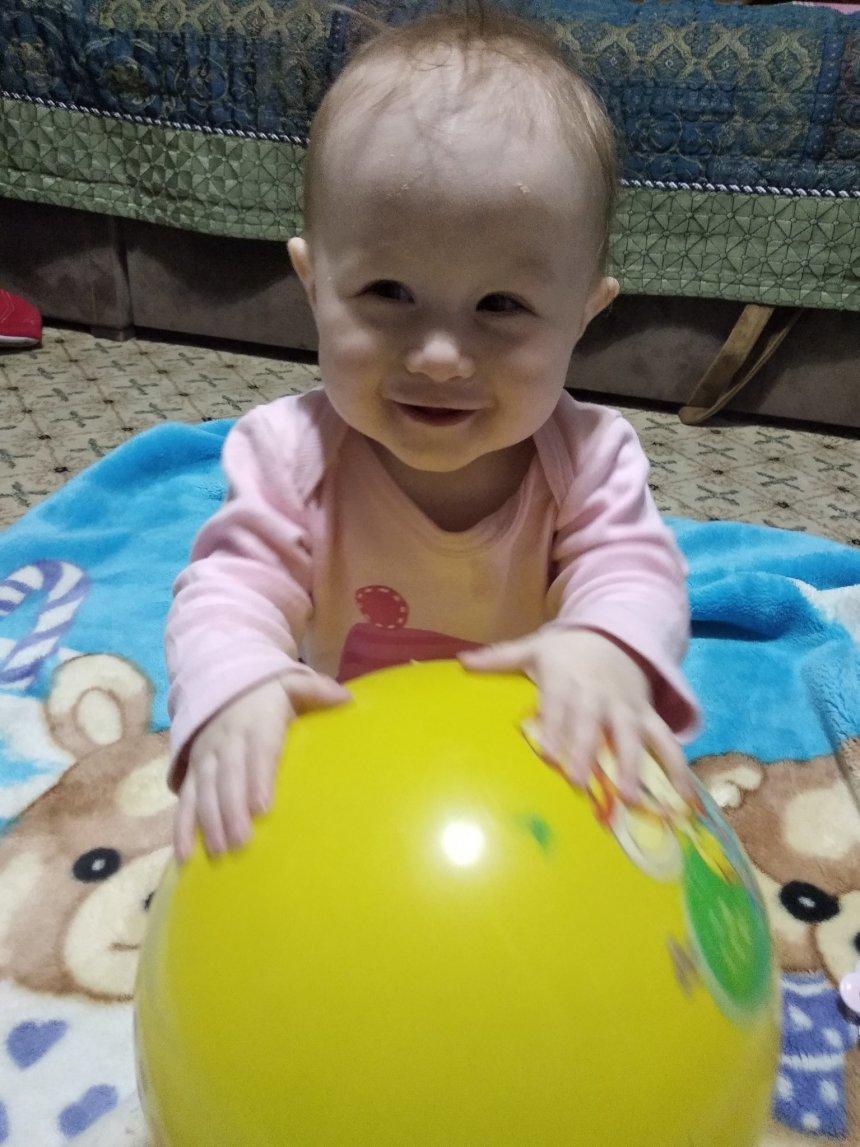 Отчёт по занятию Поиграйте в мяч в Wachanga!