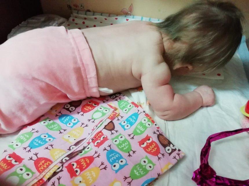 Отчёт по занятию Зрение и слух малыша в 2 месяца в Wachanga!
