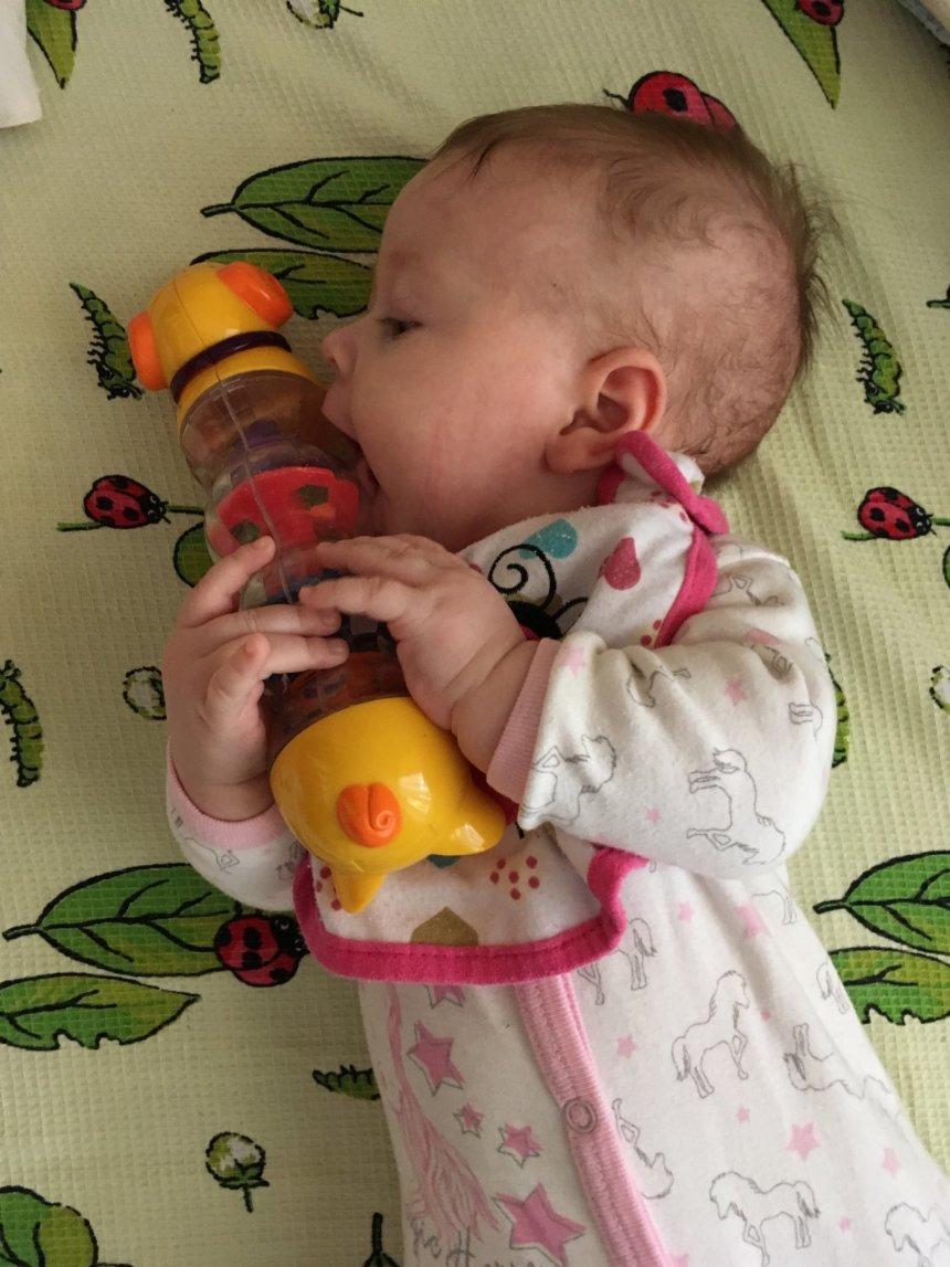 Отчёт по занятию Что может ребёнок в три месяца в Wachanga!