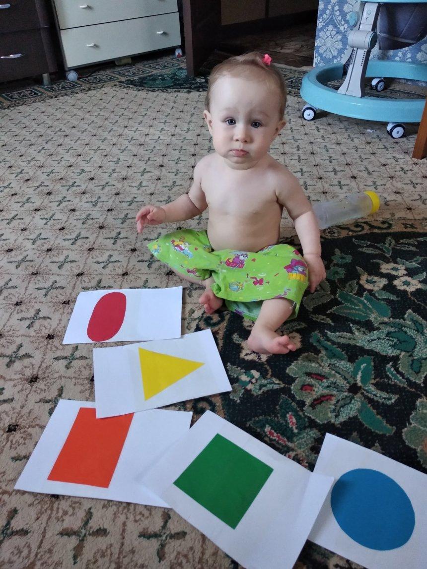 Отчёт по занятию Изучите с малышом геометрические фигуры в Wachanga!