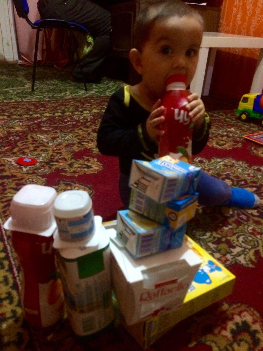 Отчёт по занятию Замок из коробок для малыша в Wachanga!