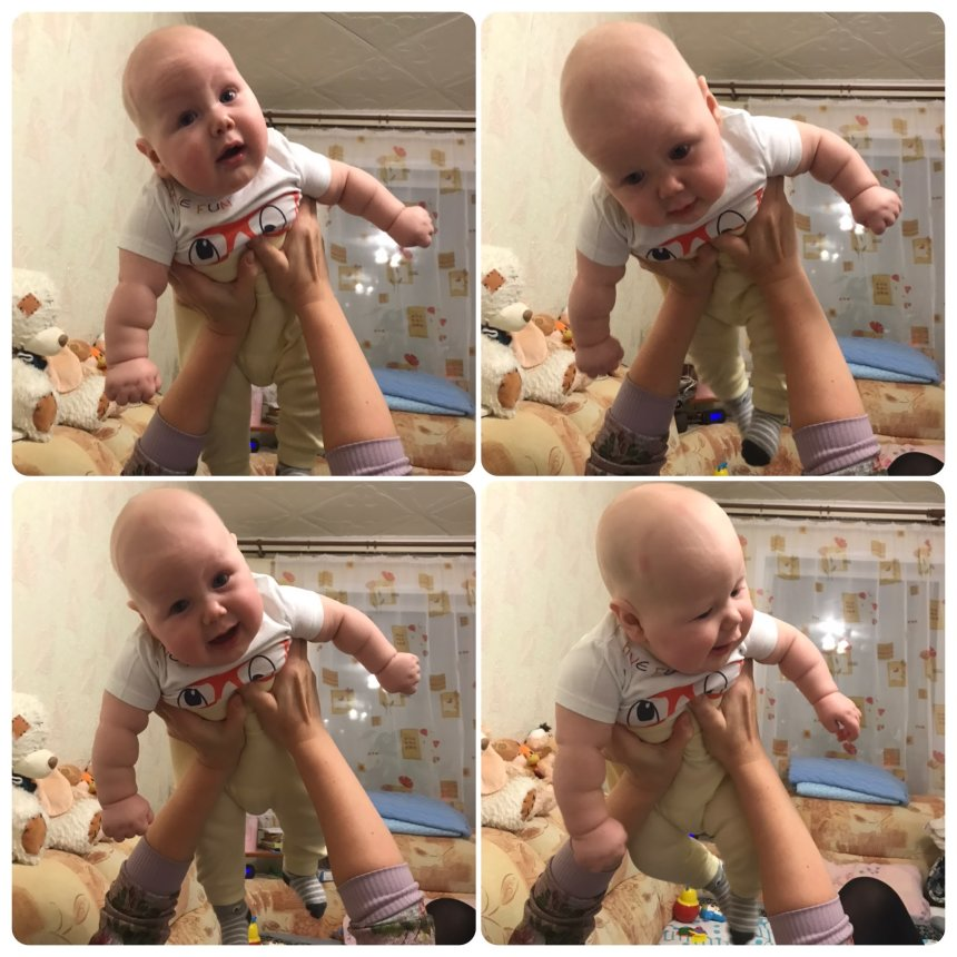 Отчёт по занятию Поднимите малыша высоко-высоко в Wachanga!
