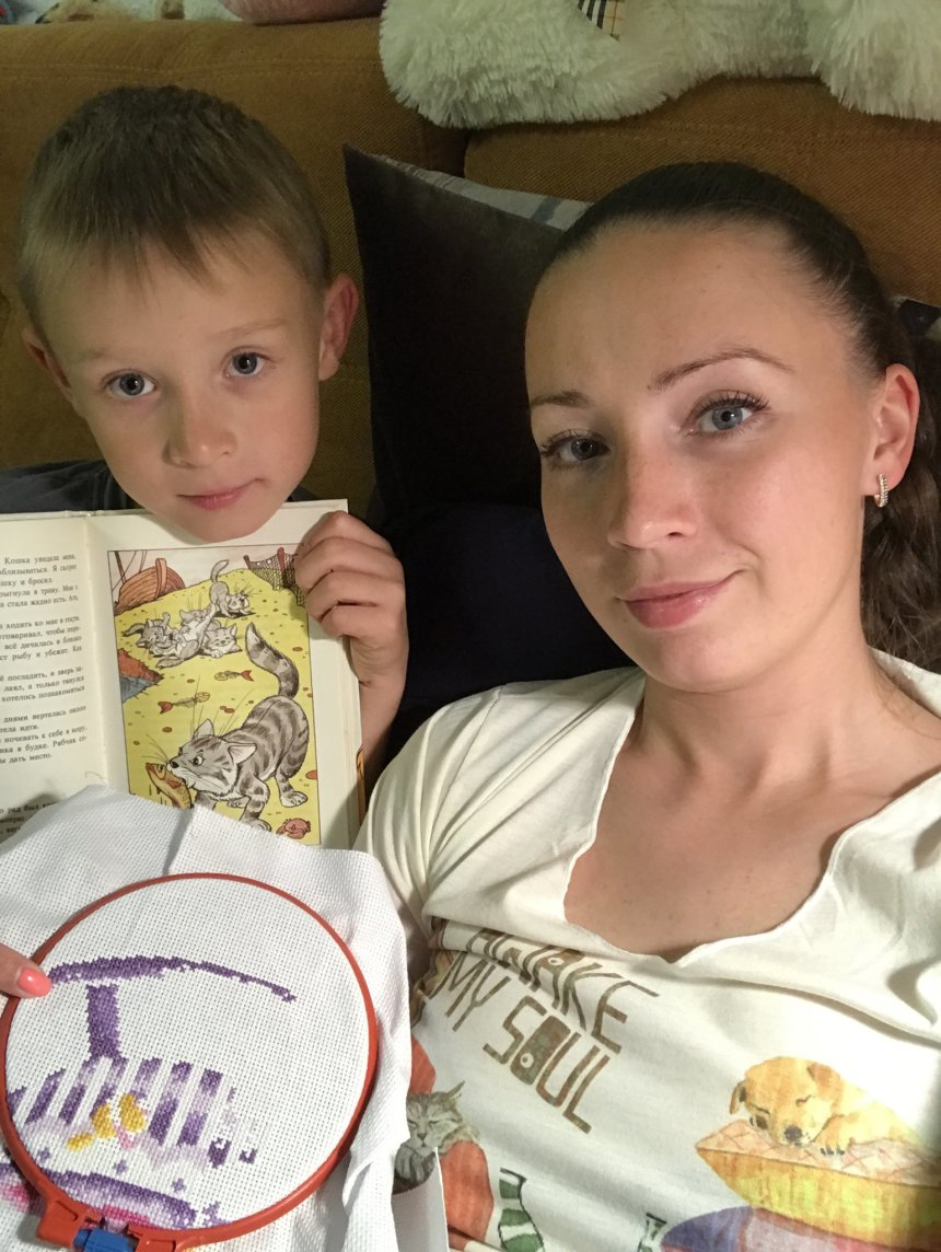 Отчёт по занятию Не заставляйте ребенка читать в Wachanga!