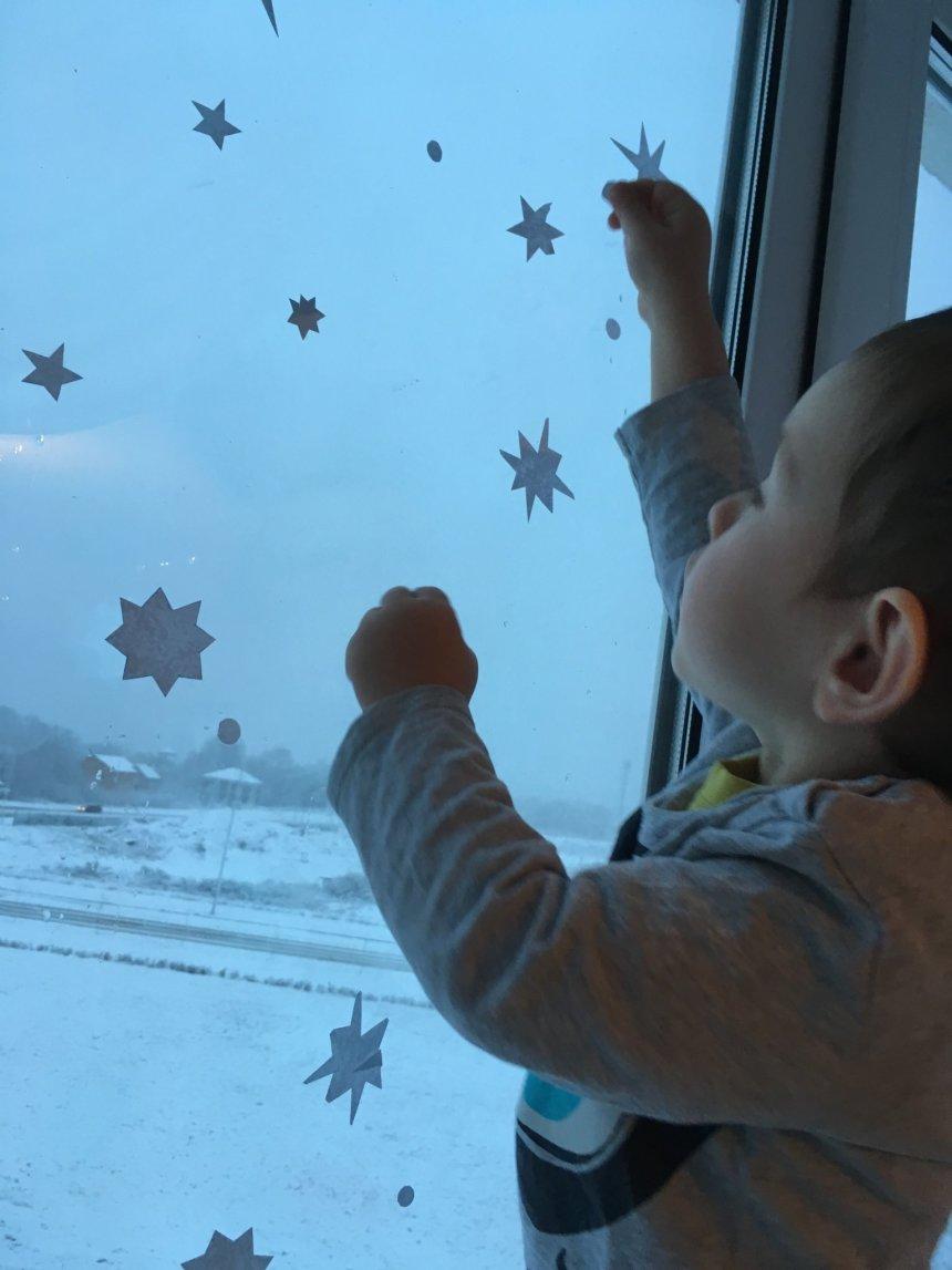 Отчёт по занятию Бумажные снежинки на окнах в Wachanga!