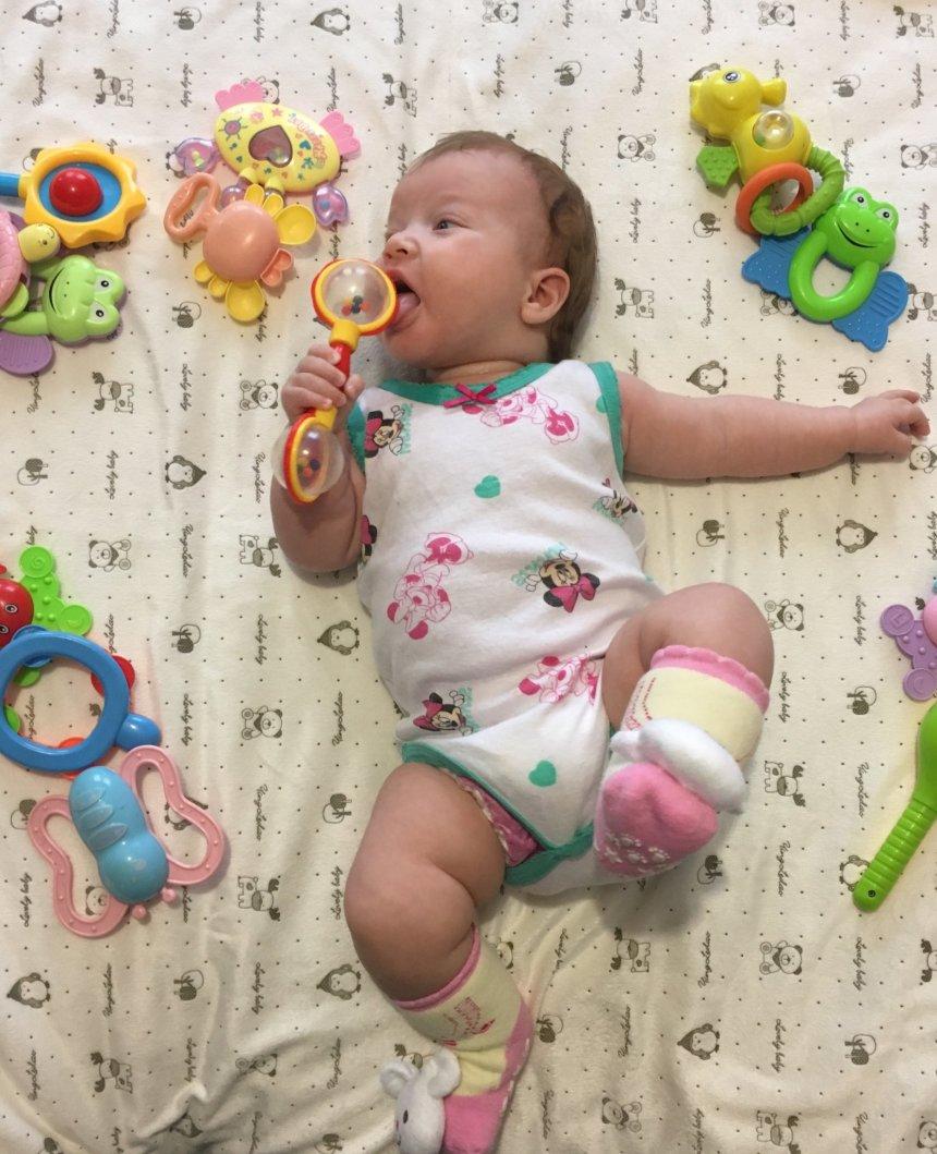 Отчёт по занятию Какие нужны игрушки в 3 месяца в Wachanga!
