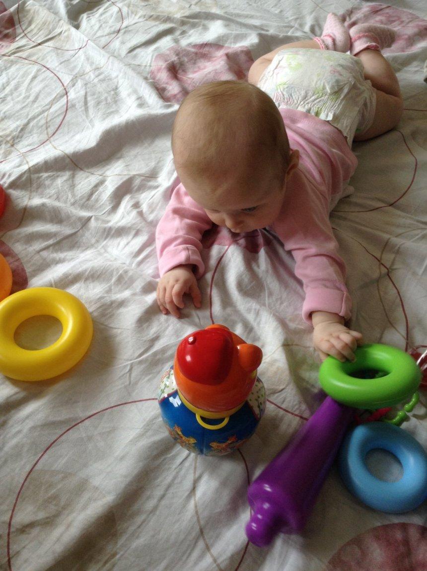 Отчёт по занятию Предложите ребенку поиграть с куклой-неваляшкой в Wachanga!