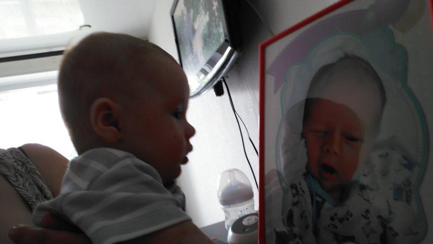 Отчёт по занятию Вернисаж для малыша в Wachanga!