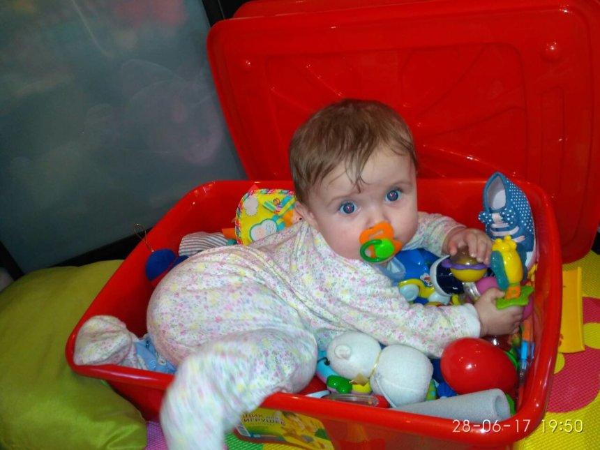 Отчёт по занятию Научите малыша перелезать через препятствия  в Wachanga!