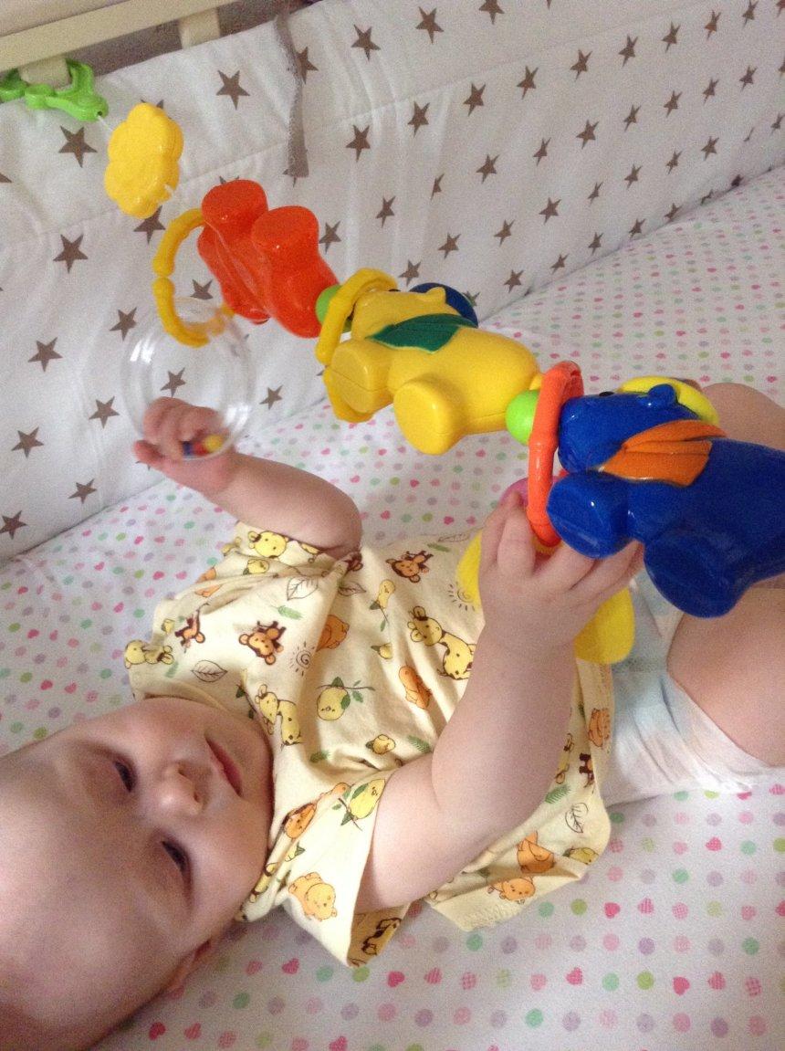 Отчёт по занятию Помогите малышу научиться вставать в Wachanga!