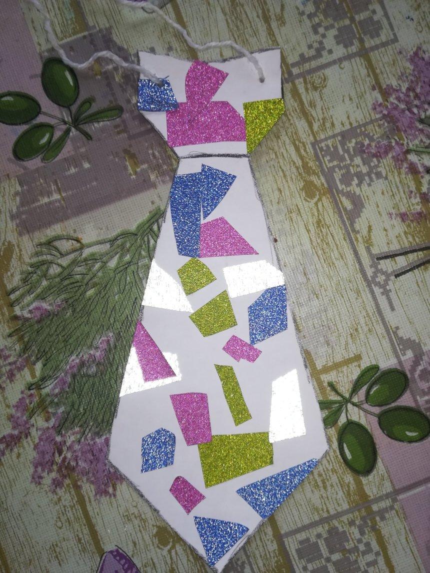Отчёт по занятию Разноцветный галстук в Wachanga!