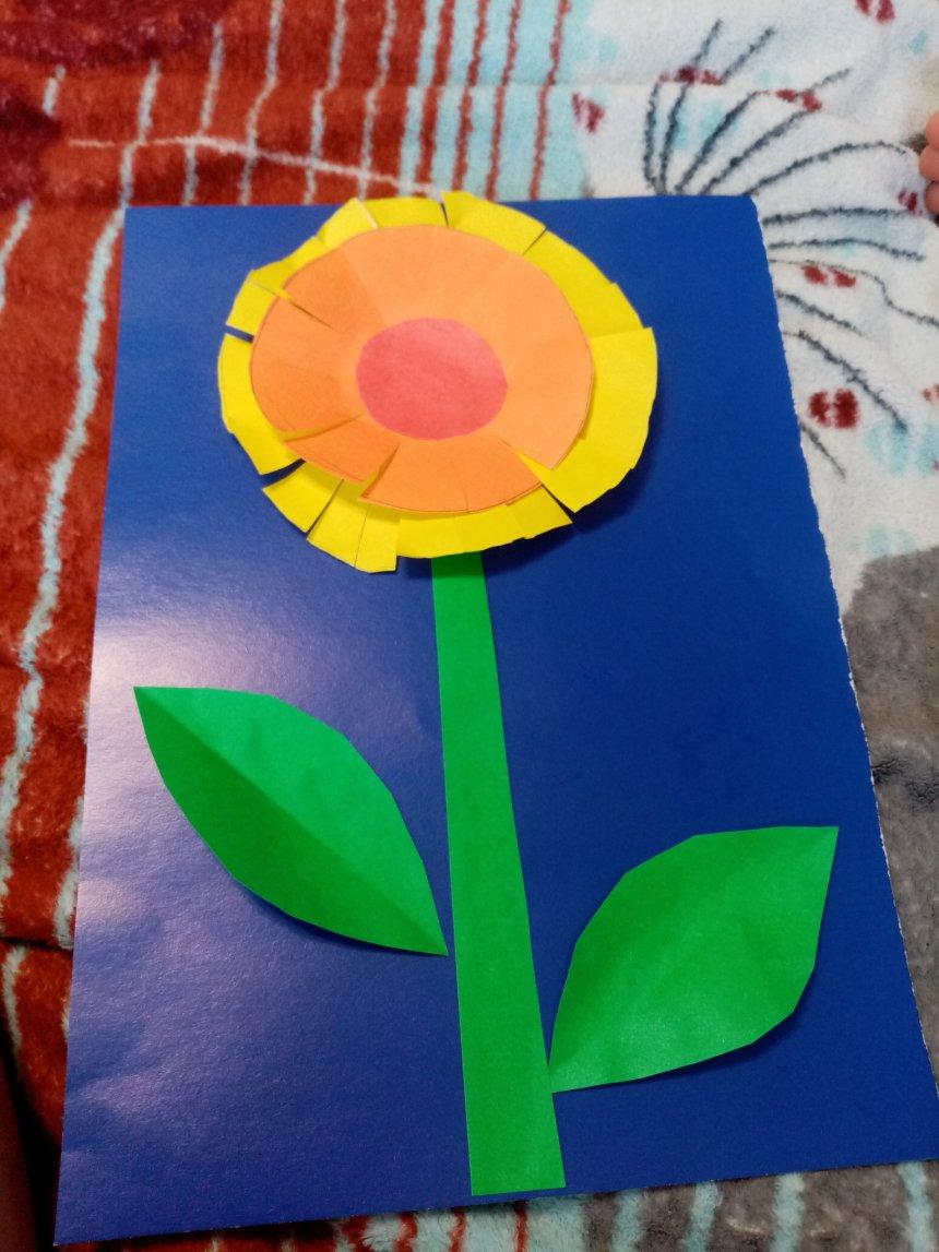 Отчёт по занятию Сделайте вместе с ребенком открытки к празднику в Wachanga!