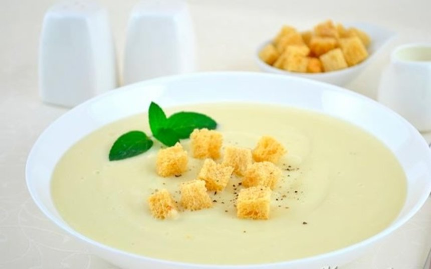 Отчёт по занятию Рецепт: Суп-пюре из цветной капусты и кабачков в Wachanga!