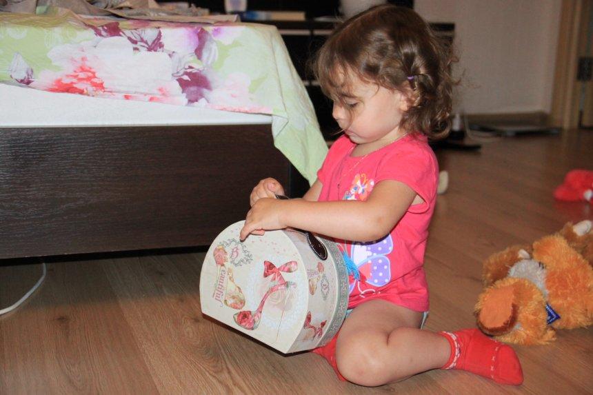 Отчёт по занятию Сделайте коробочку с тканями в Wachanga!