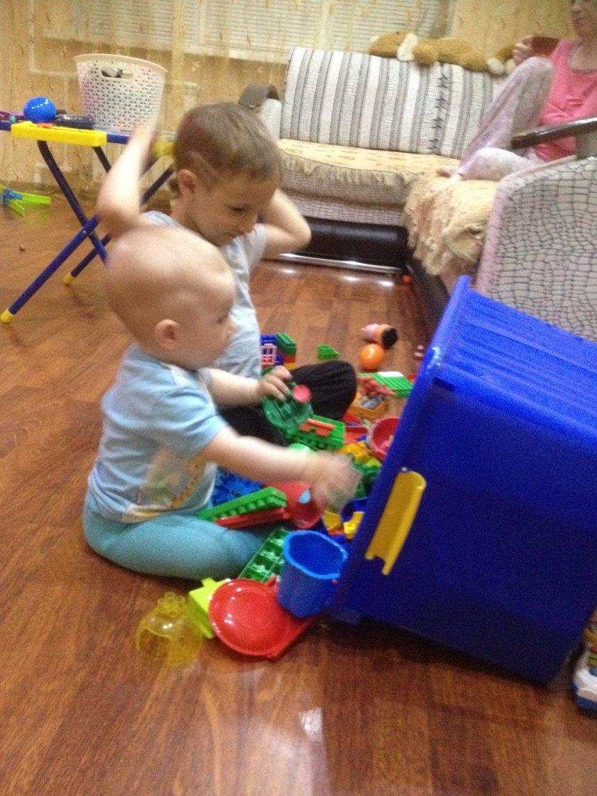 Отчёт по занятию Игры с коробками и игрушками в Wachanga!