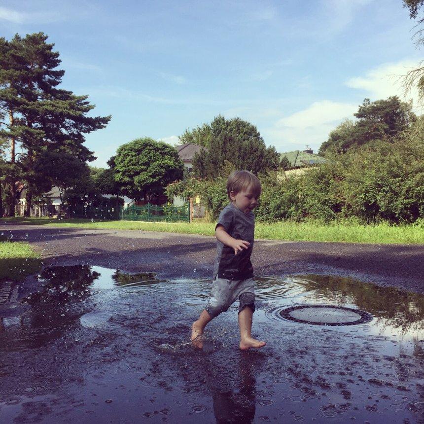 Отчёт по занятию Попрыгайте по лужам! в Wachanga!