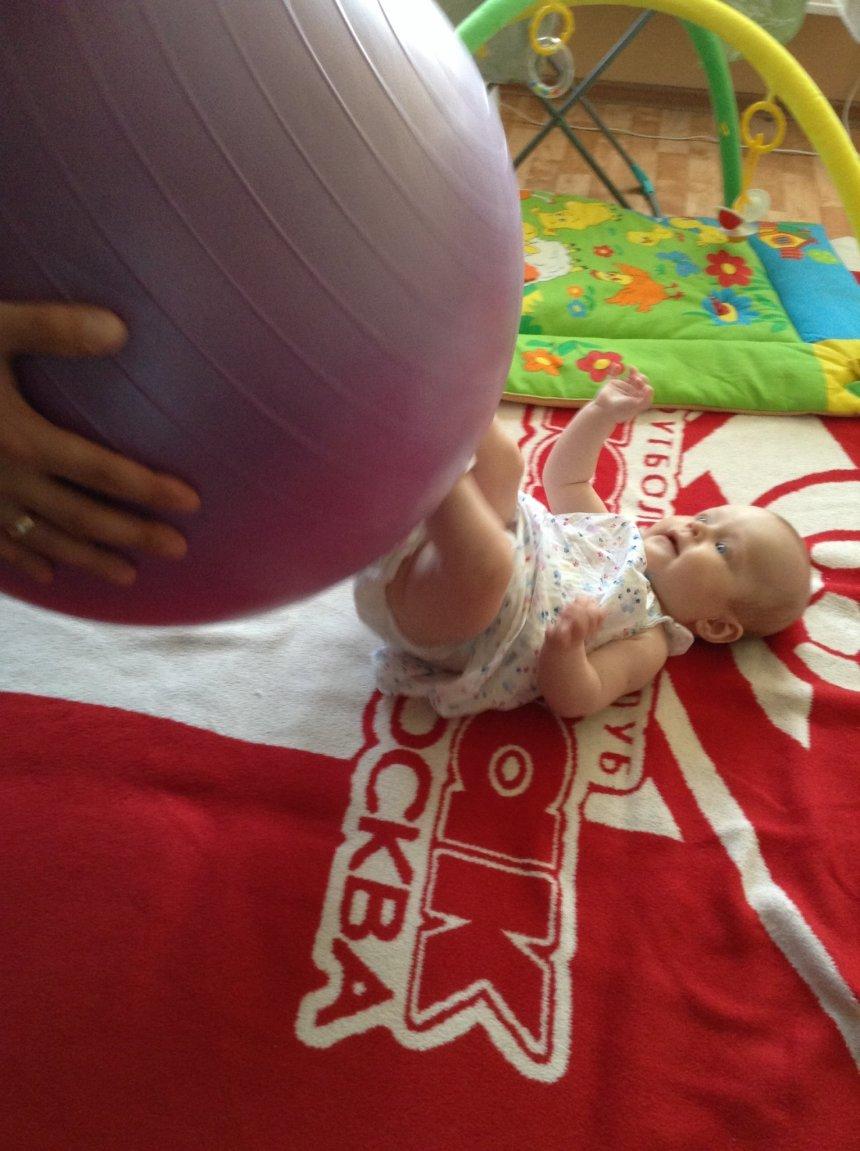 Отчёт по занятию Играем с большим надувным мячом в Wachanga!