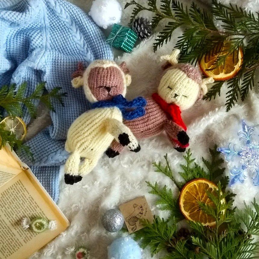 Отчёт по занятию Вязаные новогодние игрушки в Wachanga!